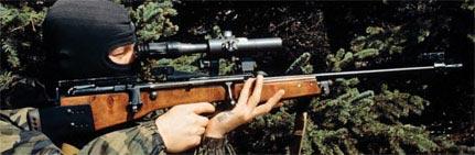 ОЦ-48К при стрельбе