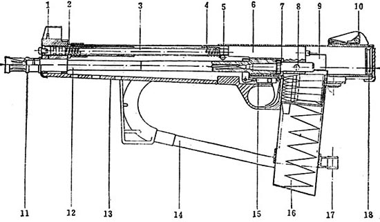 Схема карабина Interdynamics MKS