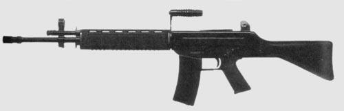автомат SR-88 с фиксированным прикладом