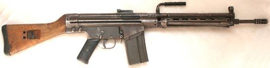 CETME modelo B / mod. 58 с магазином на 30 патронов