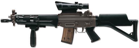 SIG SG 551 SWAT