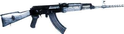 штурмовая винтовка Kbkg wz. 60 с магазином на 30 патронов