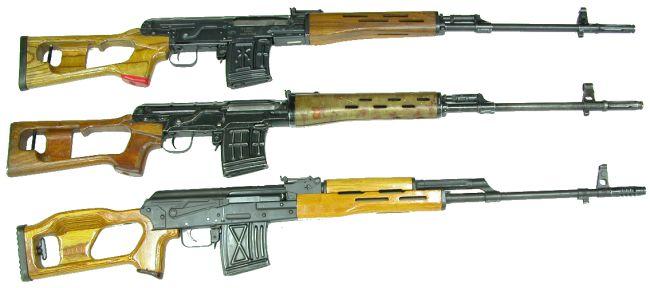 Иностранные клоны и подражания винтовке СВД