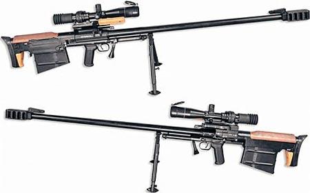 Крупнокалиберная снайперская винтовка АСВК
