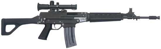 5.56 mm FOLDING BUTT AUTOMATIC RIFLE