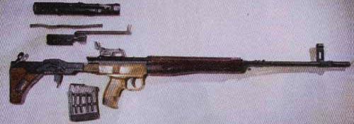 Снайперская винтовка ТКБ-0145К