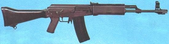 штурмовая винтовка Rk 71S (M-71S) калибра 5.56x45 мм с пластмассовым прикладом