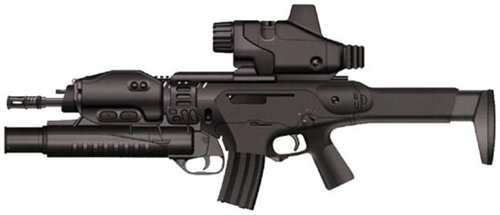 Штурмовая винтовка (автомат) Beretta ARX-160
