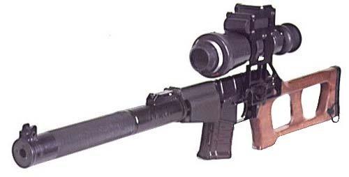 """Снайперская винтовка """"ВСС «Винторез»"""""""