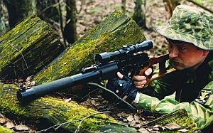 ВСС «Винторез» при стрельбе