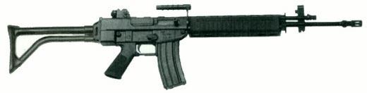 Штурмовая винтовка SR-88 со складным прикладом
