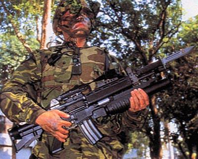 Штурмовая винтовка (автомат) T91 / Type 91