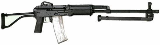 Легкий ручной пулемет CZ 2000