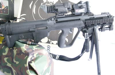 Штурмовая винтовка SAR 21 MMS Carbine