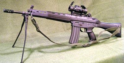 Type 89F на сошках