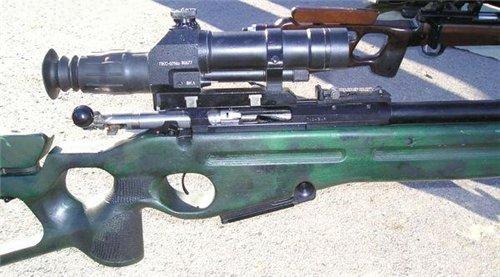 Вид на ствольную коробку винтовки СВ-98