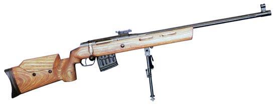 МЦ-116М без оптики и с магазином на 10 патронов