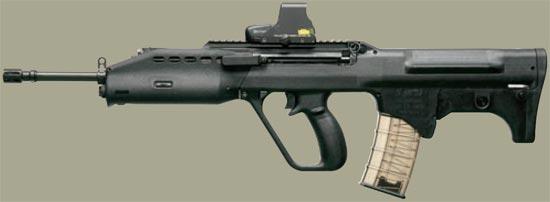 Штурмовая винтовка SAR 21 P-rail