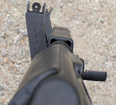 Прицельные приспособления M-82