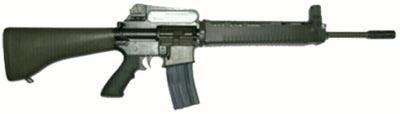 Штурмовая винтовка T86 первоначальный вариант с фиксированным прикладом