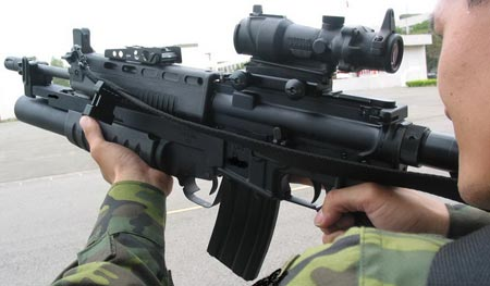 автомат T91 при использовании