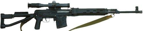 Снайперская винтовка Драгунова СВД-С