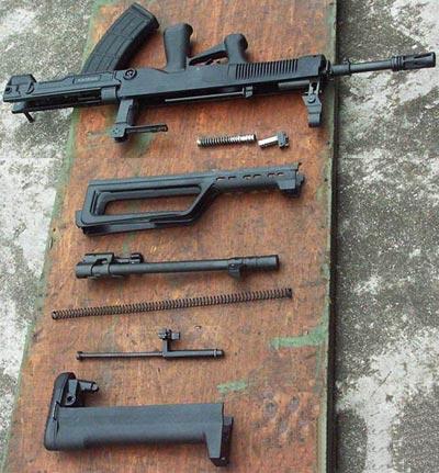 QBZ-95 (Type 95) неполная разборка