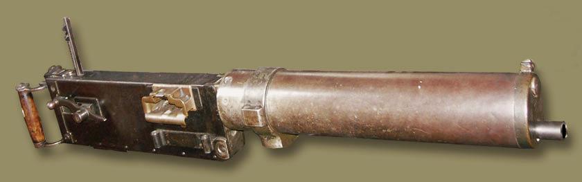 Пулемет maxim 1883 г