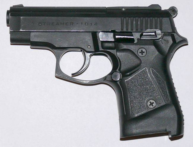Травматический пистолет streamer 1014