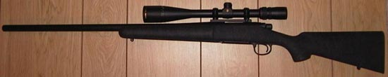 Снайперская винтовка Remington model 700 VS