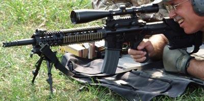 SDM-R при стрельбе