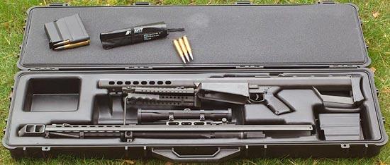 Barrett M82A1 в кейсе для транспортировки