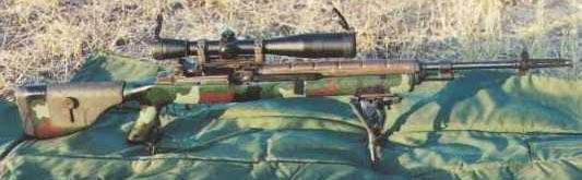 Снайперская винтовка М25 с ложа McMillan M2A