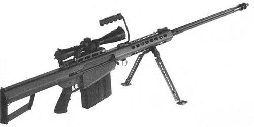 M82A1, ранний вариант с цилиндрическим дульным тормозом