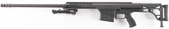 Barrett 98B без установленных прицельных приспособлений