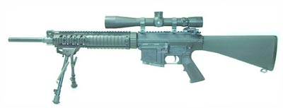 Снайперская винтовка Mk11 mod.0 с магазином на 5 патронов