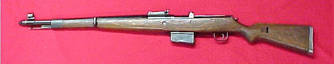 Винтовка Gew.41(W) / G41(W), предшественница винтовки K43