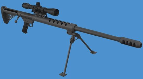 """Крупнокалиберная снайперская винтовка """"Serbu BFG-50"""