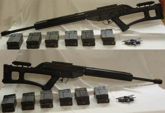 Снайперская винтовка SAR-8 HBSR без оптических прицелов