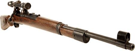 Снайперская винтовка Zf. Kar. 98k с оптическим прицелом Zielfernrohr 41 (Zf.41)