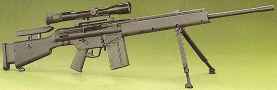 MSG-90 с магазином на 20 патронов