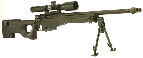 Accuracy International Arctic Warfare (AI AW) калибр 7.62x51 мм