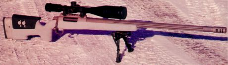 Однозарядная снайперская винтовка CheyTac Intervention M310