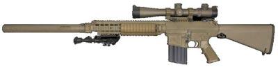 М110 SASS с установленным глушителем