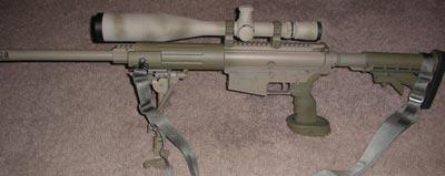 Снайперская винтовка Knights SR-25 SC
