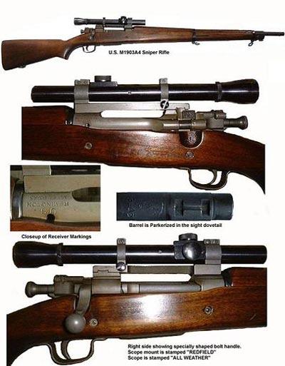 """Снайперская винтовка модели """"Springfield М1903А4"""