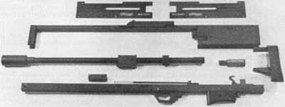 Walther WA 2000 основные компоненты