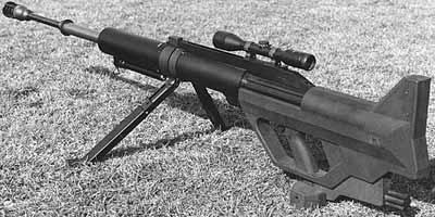 Крупнокалиберная снайперская винтовка Steyr AMR / IWS 2000
