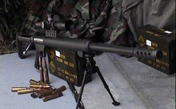 """Крупнокалиберная снайперская винтовка """"Serbu BFG-50 / BFG-50A"""""""