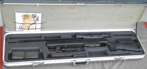 SIG SSG 3000 в кофре для транспортивровки
